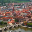 Wurzburg city in Bavaria, Germany - Stock Photo