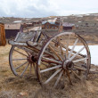 Old town. Rural cart. - Stock Photo