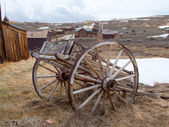 Old town. Rural cart. — Stock Photo