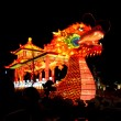 Chinese Dragon Boat lantern - Stock Photo