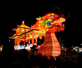 Chinese Dragon Boat lantern — Stock Photo