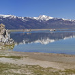 Lake and mountains. Panorama. - Stock Photo