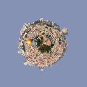 Jerusalem-small planet — Stock Photo