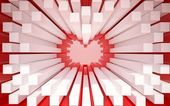 Abstract valentine — ストック写真