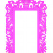 Empty Picture Frame in pink  — Photo