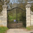 France, an old gate of a castle in Yveline — Stock Photo