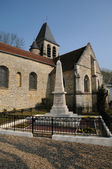 France, the church of Aincourt in Val d Oise — Stock Photo