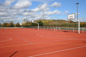 France, Yvelines, a sports ground in Les Mureaux — Stock Photo