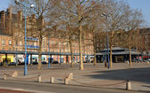 France, the Saint Marc square in Rouen — Stock Photo