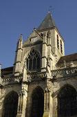 France, the church Saint Martin of Triel — Stock Photo