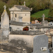 The cemetery of Condecourt  in Val d'Oise — Foto de Stock