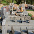 The cemetery of Condecourt  in Val d'Oise — 图库照片