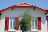 France, a little house in Cap Ferret — Stock Photo