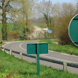 France, signs on a country road in Val d Oise — 图库照片