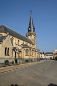церковь виньи в val d oise — Стоковое фото