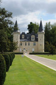 The castle of Agassac in Gironde — Stock Photo