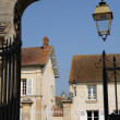Ile de France, the old village of Themericourt — Foto de Stock