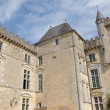 The castle of Vayres in Gironde — Stock Photo