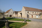 Ile de france, staré vesnici themericourt — Stock fotografie