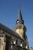 Kościół vigny w val d oise — Zdjęcie stockowe