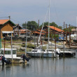 Oyster farming village of La Tete de Buch — 图库照片