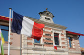 France, the city hall of Le Teich in Gironde — Stock Photo