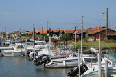 Oyster farming village of La Tete de Buch — Stock Photo