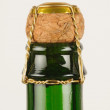 Stock Photo: Cider bottle