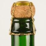 Cider bottle — Stock Photo