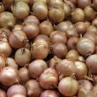 Stall of onions — Stock Photo