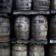 Rum barrels — Stock Photo #8236981