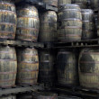 Rum barrels — Stock Photo #8236984