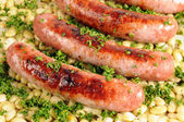 Toulouse sausages — Stock Photo