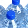 Stockfoto: Plastic water bottle