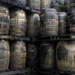 Rum barrels — Stock Photo #8250092