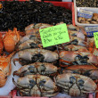 Crab on the market — Stock Photo