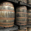 Rum barrels — Stock Photo #8293472