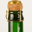 Cider bottle — Stock Photo