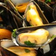 Mussels mariniere — Stock Photo