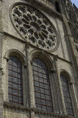 Chartres cathedral — Stock Photo