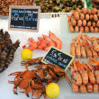 Stall of crustacean — Stock Photo #8317197