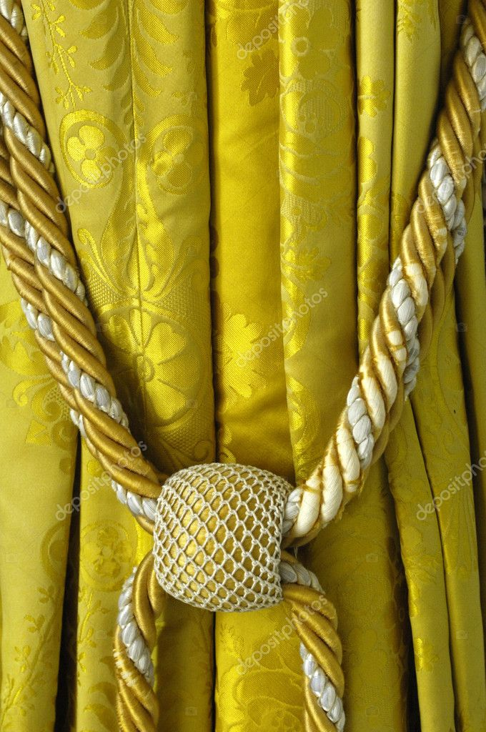 Curtain and tassel in Versailles Palace — Stock Photo #8315650