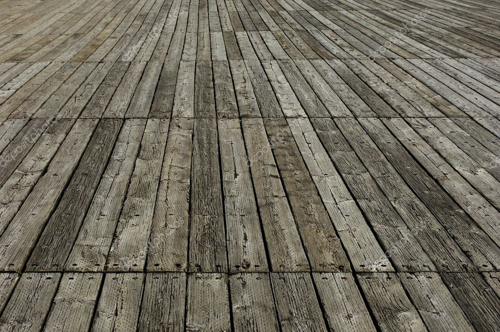 Old wood floor  Stock Photo #8317171