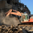 Building destruction — Stockfoto