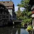 Stockfoto: Old house in district of LPetite France in Strasbourg
