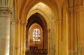 France, church Saint Martin of Triel — Stock Photo