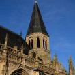 Stock Photo: France, gothic collegiate church of Poissy
