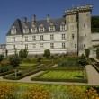 Stock Photo: France, renaissance castle of Villandry