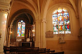 France, church Saint Martin of Triel — Stock Photo