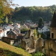 Stock Photo: France, small city of Pierrefonds in Picardie